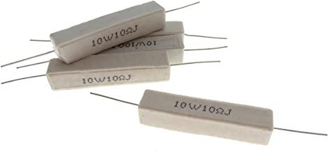 YXQ 10W 10 Ohm 5% Winding Ceramic Cement Power Resistor x 5 - coolthings.us