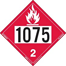 1075 flammable gas