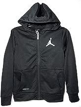 Nike Air Jordan Boys Jump-Man Therma Fit Zip Jacket - Black