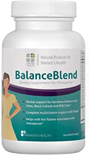 Balance Blend Menopause Support Supplement & Hot Flash Relief with Black Cohosh