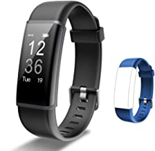 Lintelek Fitness Tracker Heart Rate Monitor, Activity Tracker, Pedometer Watch with..