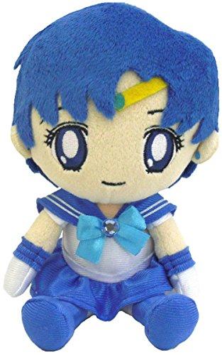 BANDAI Sailor Moon Serie 2Mercurio Plush Doll, 7'