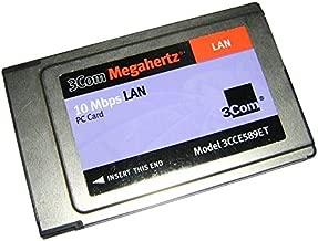 3Com Megahertz 10 Mbps LAN PC Card 3CCE589ET Ethernet PCMCIA Adapter