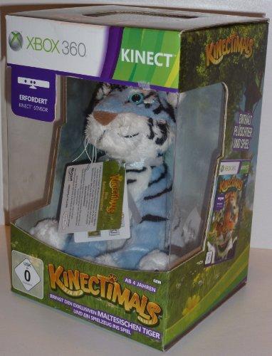 Kinectimals Spiel + Maltesischer-Tiger Plüschtier (Kinect) [Xbox 360]