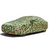 JSFMJX, autohoes, universele autohoes voor Alle modellen, hoogwaardige autohoes compatibel Met(Opel volledige Gamma), Met reflecterende Strips, volledige autobescherming-Green_Opel_Corsa