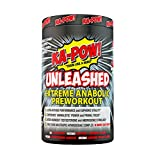 KA-POW! Unleashed - Extreme ANABOLIC PREWORKOUT -The Strongest Most Complete Pre-Workout Formula...