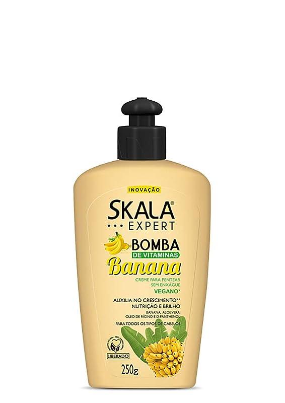 協力する句読点手当Skala Expert スカラ バナナ ビタミン ヘアクリーム:250g