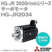三菱電機 HG-JR2034 サーボモータ HG-JR 3000r/minシリーズ 400Vクラス (低慣性・中容量) (定格出力容量 2.0kW) (慣性モーメント 4.92J) NN