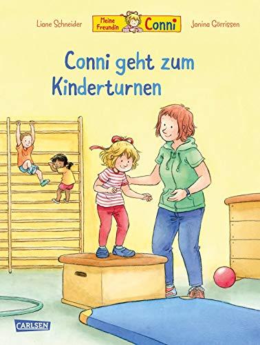 Conni-Bilderbücher: Conni geht zum Kinderturnen: Motiviert auch schüchterne Kinder und bereitet spielerisch auf die erste Turnstunde vor   ab 3 Jahren