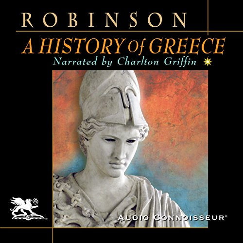 A History of Greece audiobook cover art