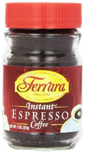 Ferrara Instant Espresso Coffee, 2 Ounce (Pack of 24)