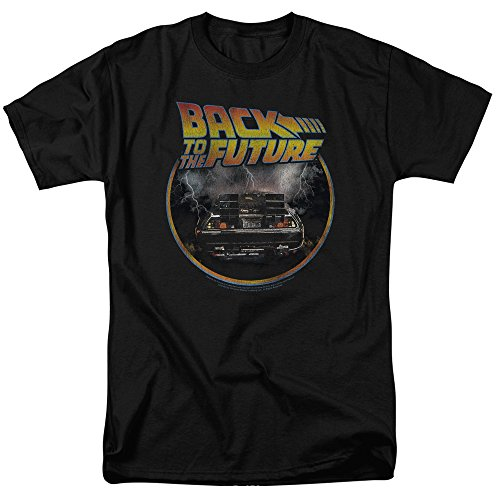 Back to The Future Delorean T Shirt & Stickers, S to 5XL