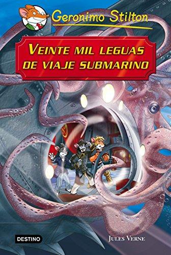 Veinte mil leguas de viaje submarino: Grandes Historias (Grandes historias Stilton)