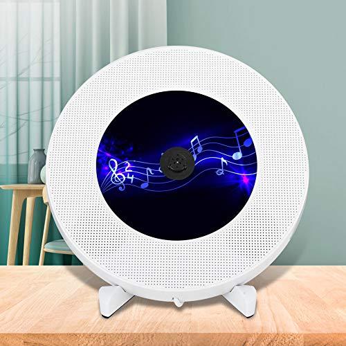 Reproductor de CD, Altavoz de Audio portátil con Control Remoto para CD(Insect)