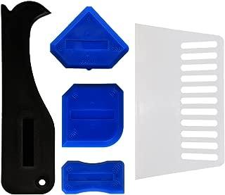GRIVER 5-Piece Caulking Tool Kit,Caulk Finishing Tool Kit (5-Piece Caulking Tool Kit)