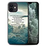 Stuff4 Gel TPU Phone Case/Cover for Apple iPhone 12/12 Pro/The Lord's Prayer Design/Christian Bible Verse Collection
