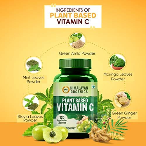 Himalayan Organics Plant Based Vitamin C Supplements
