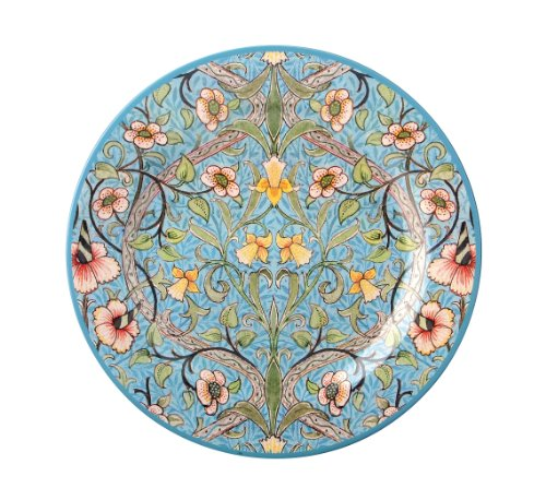 William Morris Daffodil Design, Hand Painted Enamel & Pewter