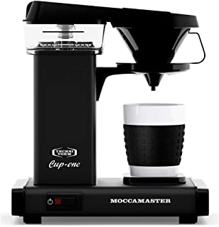 Technivorm Moccamaster Cup One Coffee Brewer, 10 oz, Matte Black