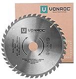 VONROC Lama per sega circolare Ø216mm - 40 denti. Universale. 216 x 30mm