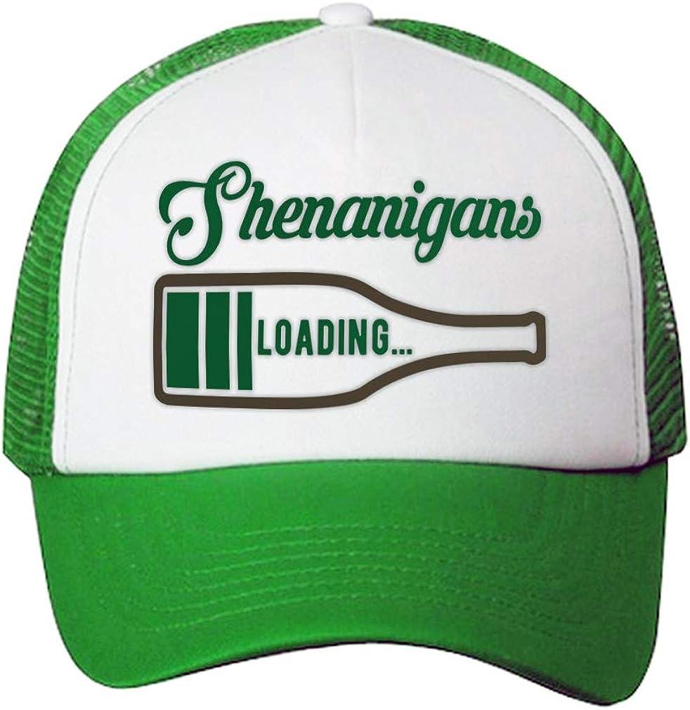 Trucker Hat Shenanigans Irish St Patrick's Patty Clover Polyester 1 Size