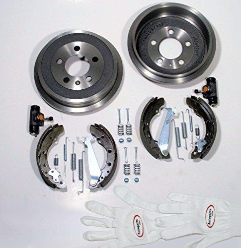Autoparts-Online Set 60002134 Bremstrommel/Bremsen Set hinten