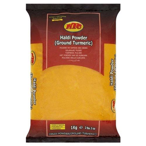 KTC Haldi Powder (Ground Turmeric) 1kg