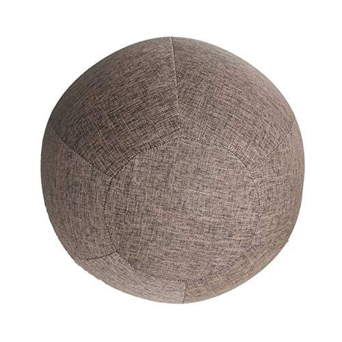 SM SunniMix 55 Cm Couverture de Balle de Yoga équilibre Accouchement Assis Balle Chaise Housse de...