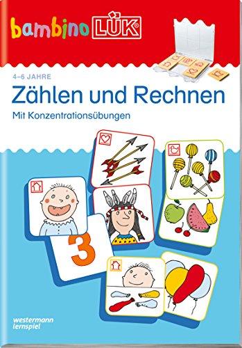 bambinoLÜK-Übungshefte: bambinoLÜK: 4/5/6 Jahre - Vorschule: Zählen und Rechnen (bambinoLÜK-Übungshefte:...