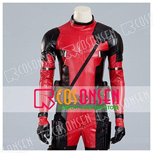 『X-Men X-メン エックスメン デッドプール(Deadpool) ウェイド・ウィルソン コスプレ衣装 COSONSEN (オーダーサイズ)』の1枚目の画像