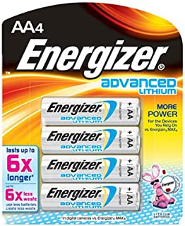 energizer ultimate lithium aa test