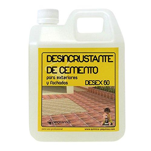 PEQUINSA DETERGENTE DESINCRUSTANTE Acido Limpiador DE Cerami