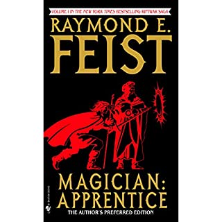 Magician: Apprentice     Riftwar, Book 1              Written by:                                                                                                                                 Raymond E. Feist                               Narrated by:                                                                                                                                 Nicholas Guy Smith                      Length: 17 hrs and 16 mins     48 ratings     Overall 4.7
