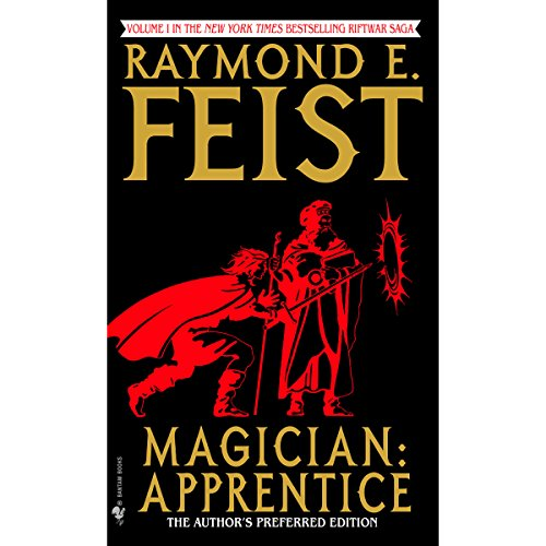 Magician: Apprentice audiobook cover art