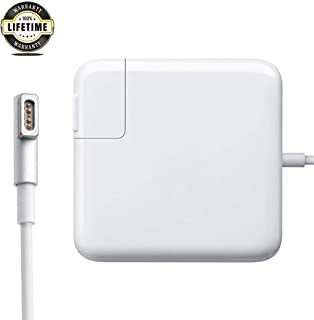 Mac Book Pro Charger, AC 60w Magsafe 1 Power Adapter Magnetic L-Tip Connector Charger for Mac Book Pro 13-inch(Before Mid 2012 Models)