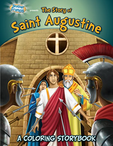 Coloring Book: The Story of Saint Augustine (Coloring Storybooks)