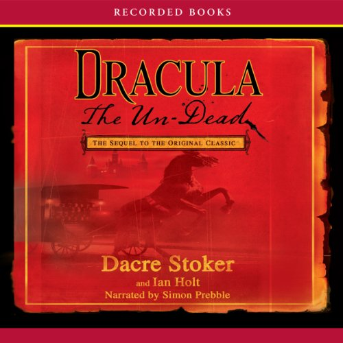 Dracula the Un-Dead audiobook cover art