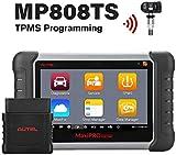 Autel MaxiPRO MP808TS OBDII Diagnóstico con Wi-Fi y Bluetooth, diagnóstico de Todo el Sistemas de Presión de Neumáticos TPMS y Funciones Especiales BMS DPF SAS IMMO en Español