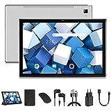 qunyiCO Y20 Tablet 10.1 Pollici Android 10, 4G LTE + 5G WiFi, Dual SIM, 8000mAh, Tipo C, Octa-Core, 4GB RAM + 64GB ROM, 5.0MP + 13.0MP Doppia Fotocamera, 1280 * 800, GPS, con mouse   Tastiera e Cover