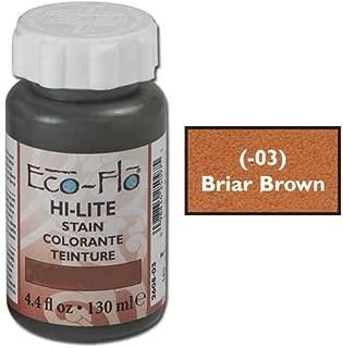 Tandy Leather Eco-Flo Hi-Lite Stain 4.4 fl. oz. (132 ml) Briar Brown 2608-03