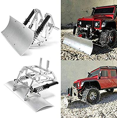 Benedict Harry Alloy Snow Shovel for TRX4 SCX10lI 90046 90027 90028 1/10 RC Crawler Car
