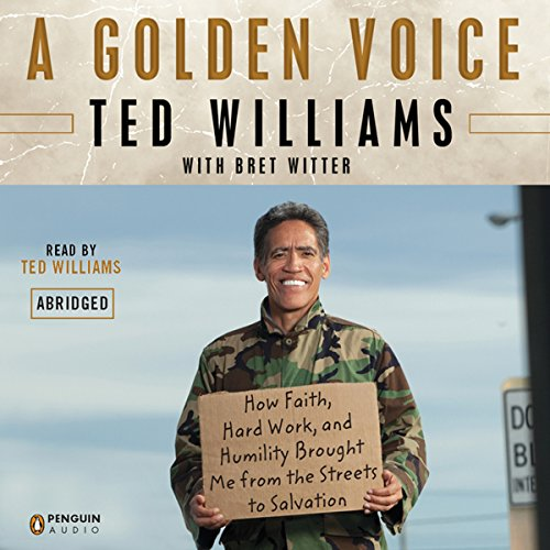 A Golden Voice audiobook cover art