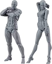 Drawing Figures For Artists Action Figure Model Human Mannequin Man andWoman Set