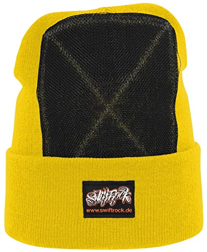 Swift Rock Classic Breakdance Bonnet headspin, Gelb / Yellow, Taille unique