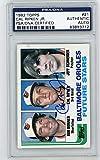 Cal Ripken Jr. 1982 Topps Baseball Future Stars...