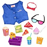 Our Generation- Accesorios Cine – Palomitas, Color (Battat BD37848Z)