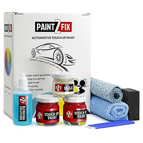 Touch Up Paint for Honda - R81 Milano Red | Paint Scratch Repair Kit - Bronze Pack