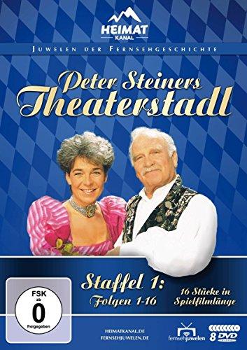 Peter Steiners Theaterstadl - Staffel 1: Folgen 1-16 (Fernsehjuwelen) [8 DVDs]