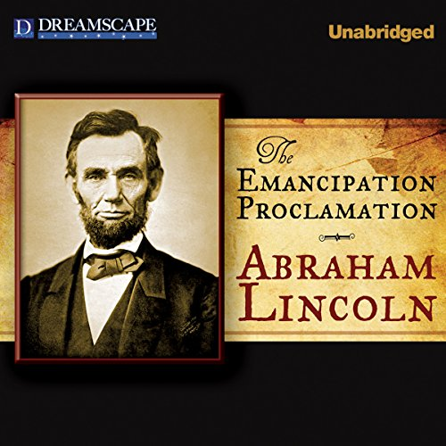 The Emancipation Proclamation audiobook cover art