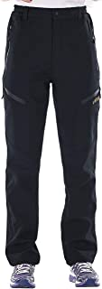 unitop Women's Winter Outdoor Warm Water-Resistant Fleece Lined Ski Snow Pants